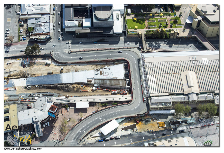 Perth City Link aerialphotographywa 6