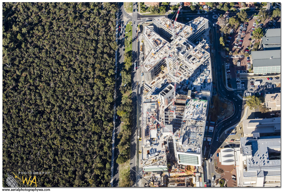 PERTH CHILDREN HOSPITAL1.aerialphotographywa