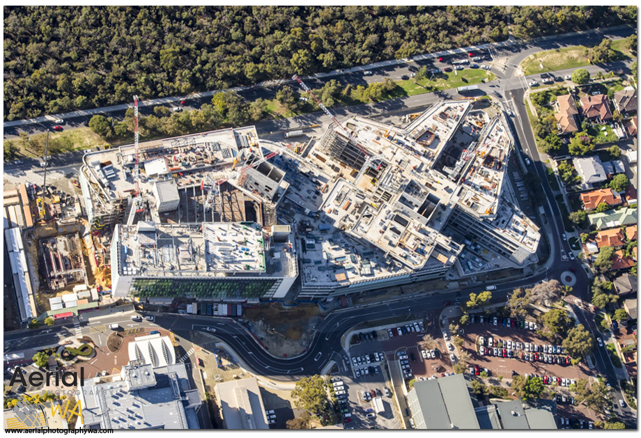 PERTH CHILDREN HOSPITAL2.aerialphotographywa