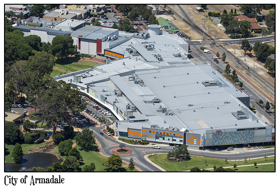 city of Armadale-aerialphotographywa