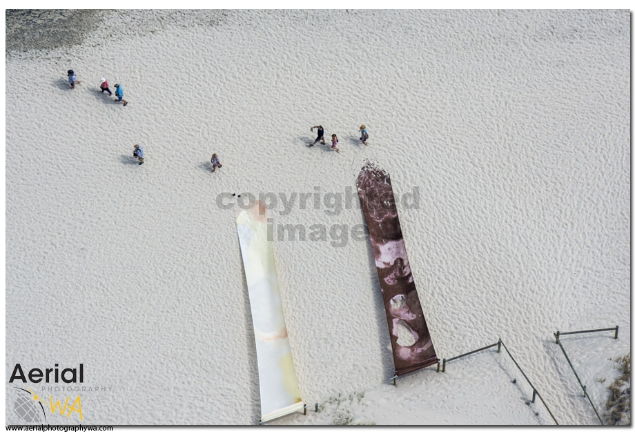 Sculptures by the sea.aerialphotographywa6
